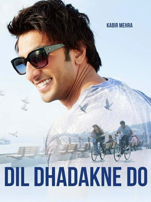 Dil Dhadakne Do Ranveer Singh as Kabir Mehra