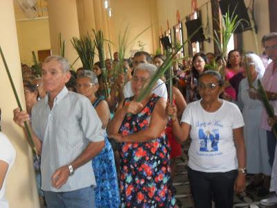 Resultado de imagem para fotos do domingo de ramos em sao paulo do potengi