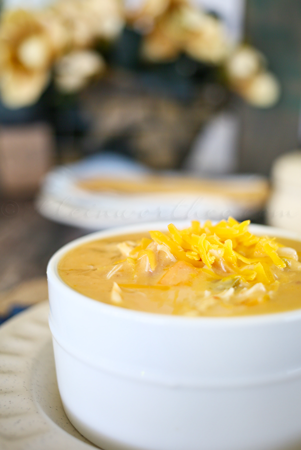 Jalapeno Cheddar Chicken Soup from Kleinworth and Co.