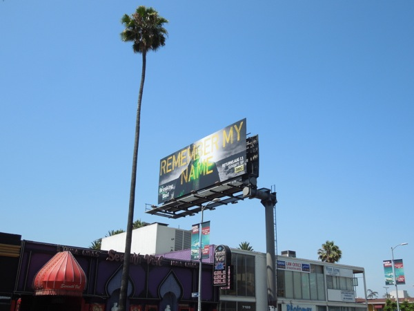 Breaking Bad series 6 billboard