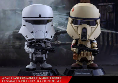 Star Wars Rogue One Assault Tank Commander & Shoretrooper Cosbaby Mini Figure Set by Hot Toys