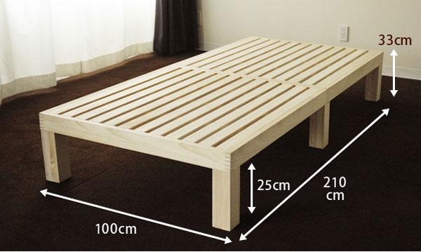 giường gấp đơn đa năng bằng gỗ