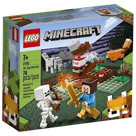 Minecraft The Taiga Adventure Lego Set