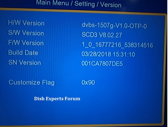 1507G 512 SCB3 openbox genius Version8 09 29 Software - Dish