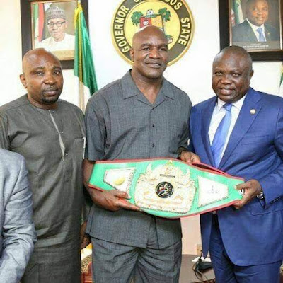 ACI Entertainment champions boxing revolution in Nigeria, partners with Evander Holyfield to stage first boxing reality show