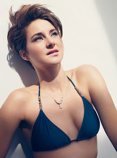 Shailene-Woodley-Hot-in-Sexy-Blue-Swimsu