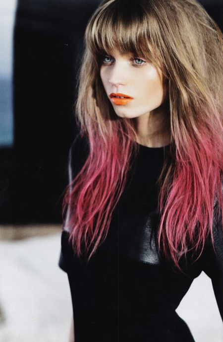 Wildflower Dip Dyed Hair Amp Colorful Highlights