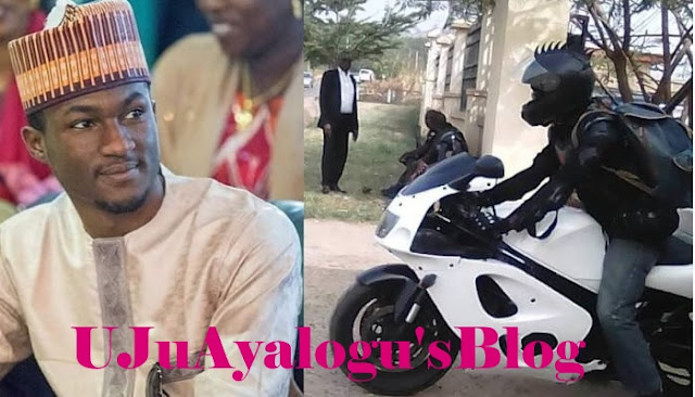 President Buhari's son, Yusuf   hurriedly flown abroad after Unfortunate Bike Accident