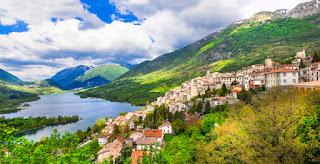 Medieval Village Barrea in Abruzzo