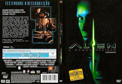 Filme Alien 4 - A Ressurreição (Alien Resurrection) DVD Capa