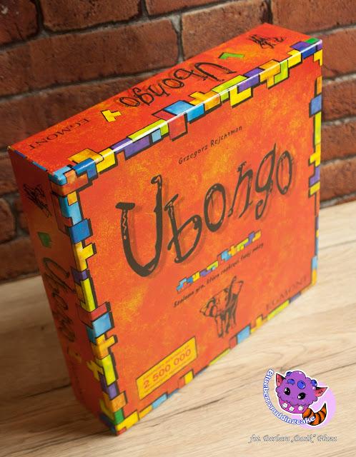 Unboxing Ubongo gra planszowa