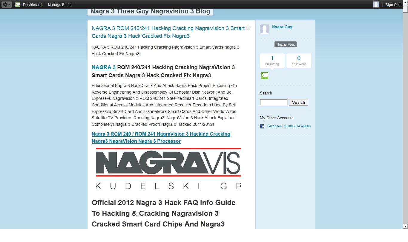 Nagra 3 Bookmarks: Nagra 3 Three Guy Nagravision 3 Blog TypePad