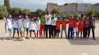 مدرسة الرياض وجمعية فرح باي بالحوز ينظمان مهرجانا رياضيا