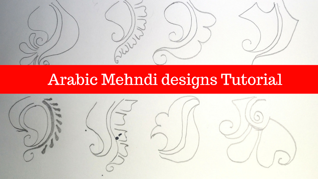 How To Draw Mehndi Designs Step By Step On Paper Art Meets Fashion