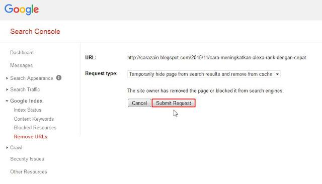 Cara Mengatasi URL Crawl Error 404 Di Webmaster Tool