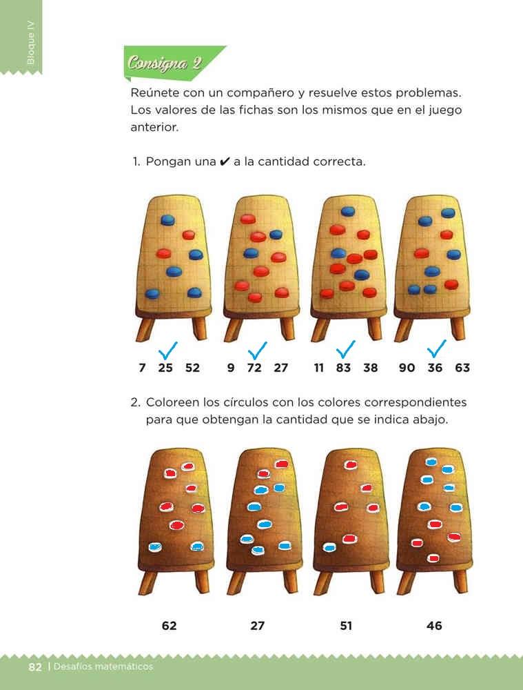 Juguemos al cajero desafíos matemáticos primer grado Resuelto pagina 82