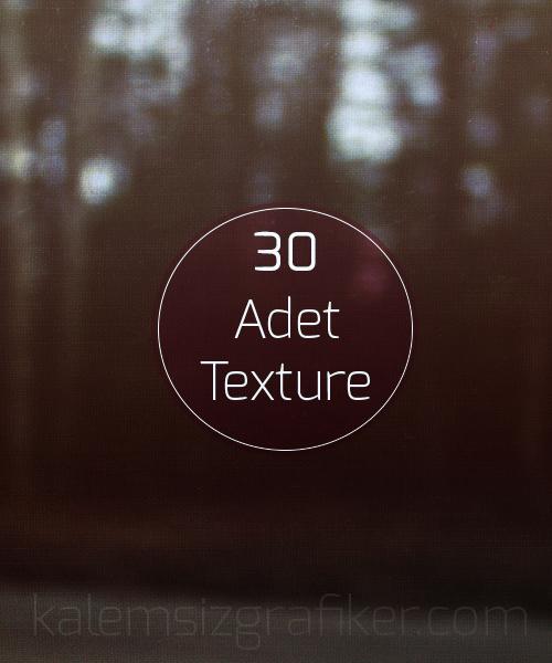 30 Adet Vintage Texture