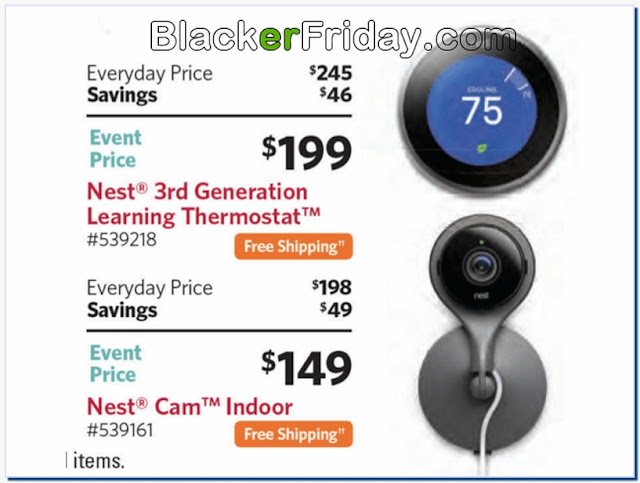 Nest thermostat 3rd generation black friday sale