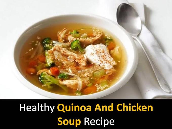 Healthy Quinoa and Chicken Soup recipe