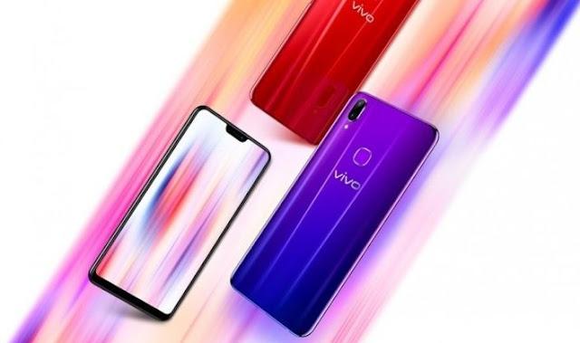 Smartphone vivo Z1 Lite hadir dengan warna gradien