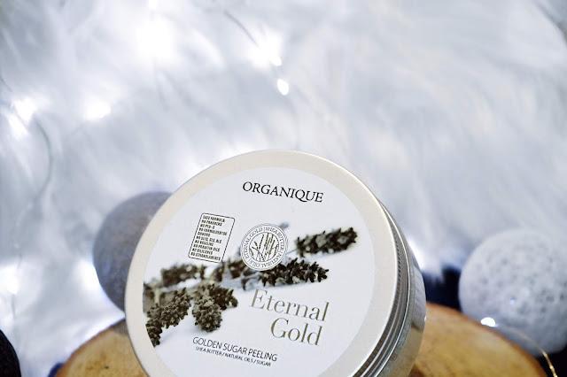 Złoty peeling cukrowy