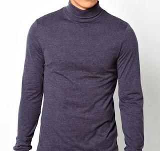 Kaos dengan Bentuk Long Neck