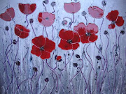 April inspiration is by Karen Neal called Poppyfields.