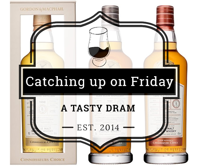 Catching up on Friday (20 April 2018)