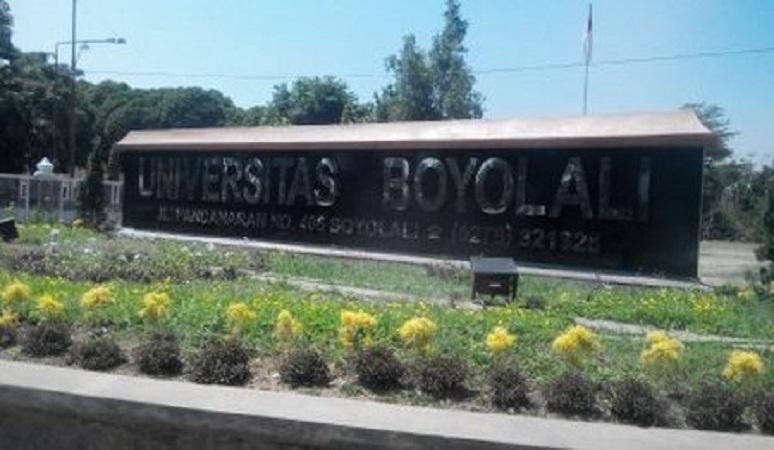 PENERIMAAN MAHASISWA BARU (UBY) UNIVERSITAS BOYOLALI