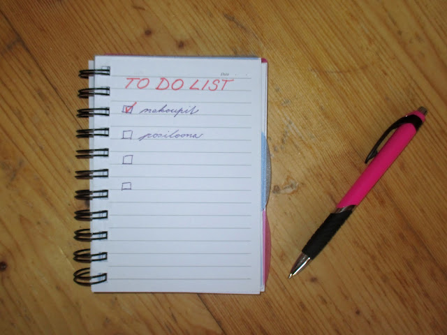 jak neztratit motivaci to do list