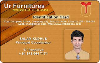 Idcard Templates - Furniture IDCard - 03