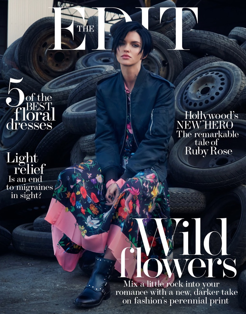 Ruby Rose in The Edit January 19th, 2017 by Drew Jarrett