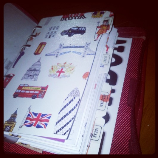 filofax, diary, national stationery week,