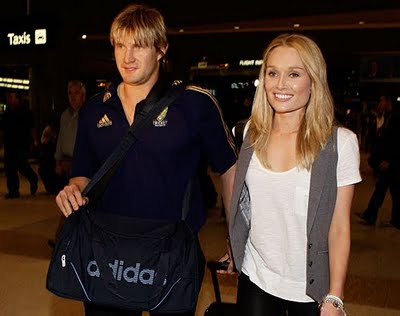 All Sports Players: Shane Watson With His Wife Lee Furlong ...