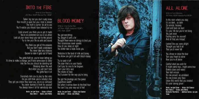 JOE LYNN TURNER - The Usual Suspects [Japan Edition +2 bonus] booklet
