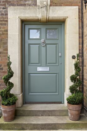 The paper mulberry exterior paint shades part 2 Dark green front door paint