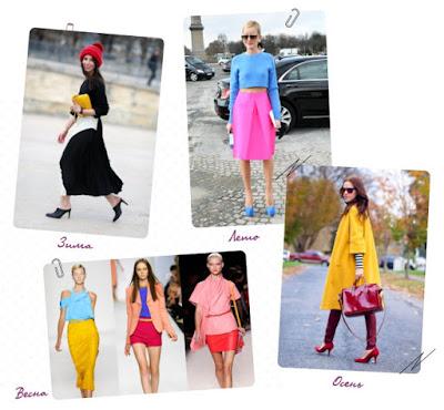 Колор Блок или секрет модной одежды