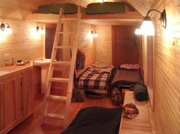 Tiny House Interior: Simple Pleasures: Tiny Houses