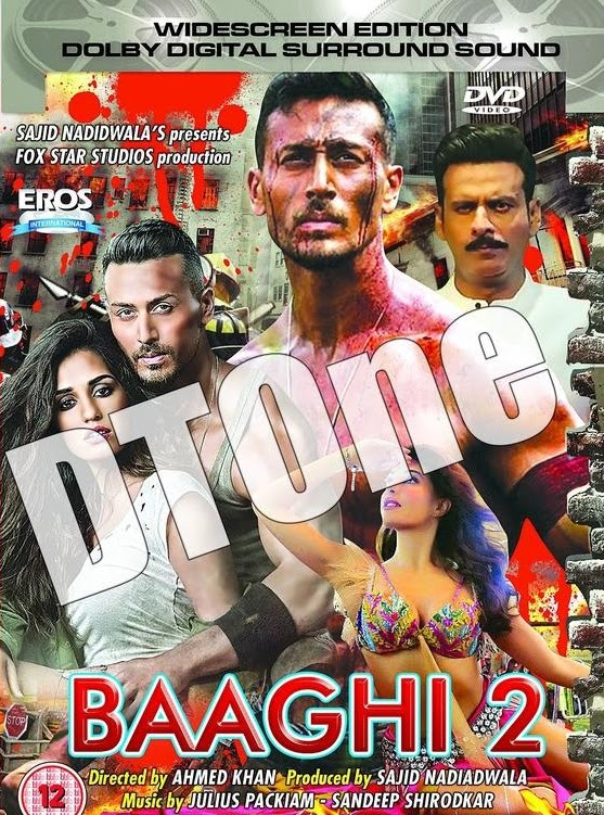 Baaghi 2 2018 Hindi 600MB HDRip 720p HEVC x265
