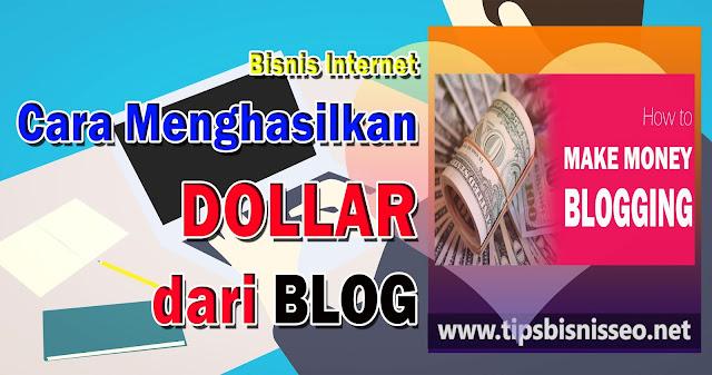 Cara Paling Mudah Mencari Dollar di Internet