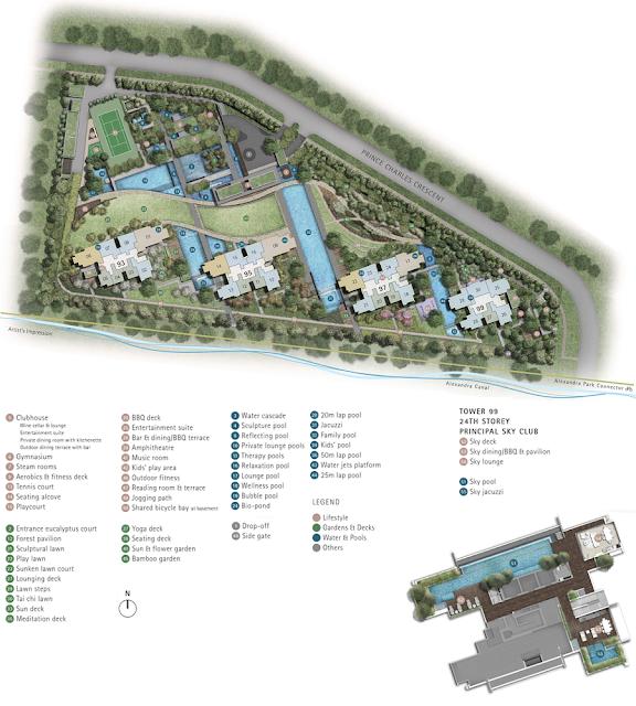 Principal Garden Site Plan