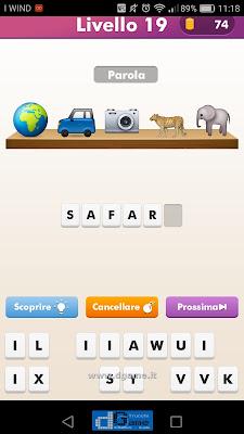 Emoji Quiz soluzione livello 19