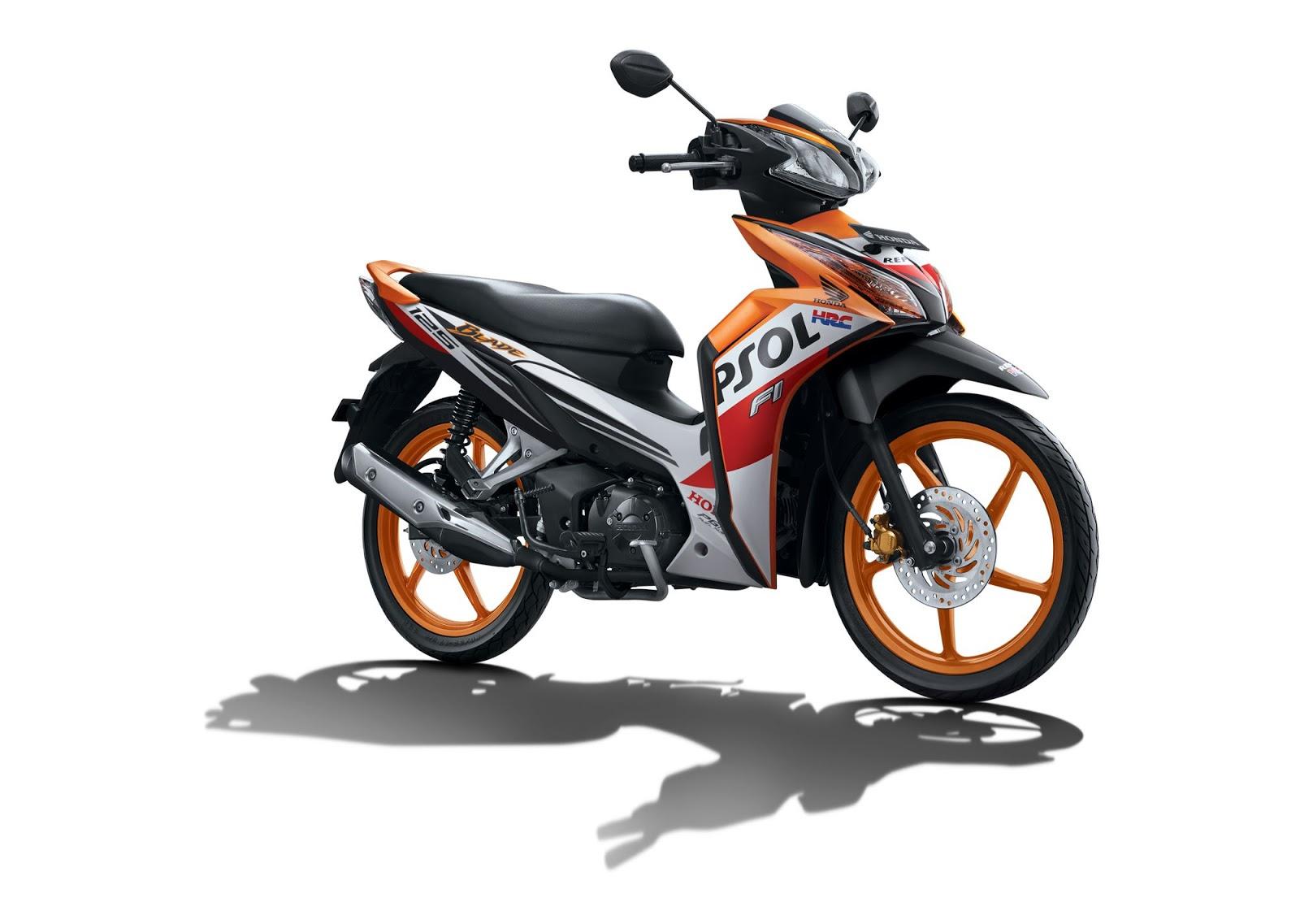 Harga dan Spesifikasi Motor Honda Blade 125 FI Terbaru 2018