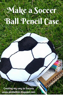 Soccer Ball Pencil Case