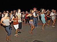 Salsa party, riva, Postira otok Brač slike