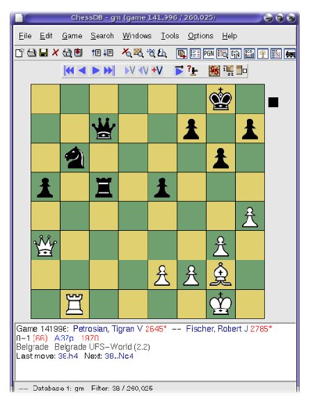 Tartajubow On Chess II: Free Chess Database Program