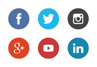 Cara Mudah Membuat Tombol Sosial Media (Social Icon) Keren di Blog terbaru