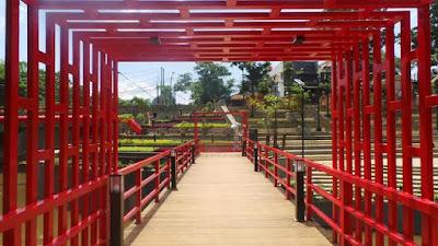 Jembatan Merah Teras Cikapundung BBWS Bandung