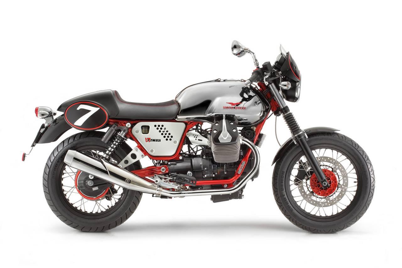cafe racer special 2012 moto guzzi v7 racer. Black Bedroom Furniture Sets. Home Design Ideas