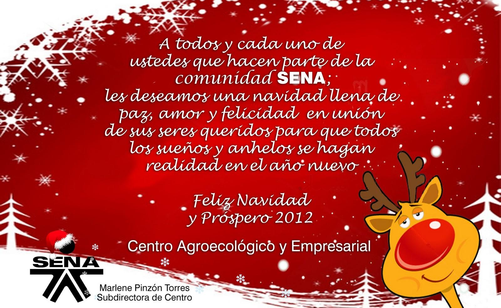 Blog centro agroecol gico y empresarial diciembre 2011 - Frases de navidad para empresas ...